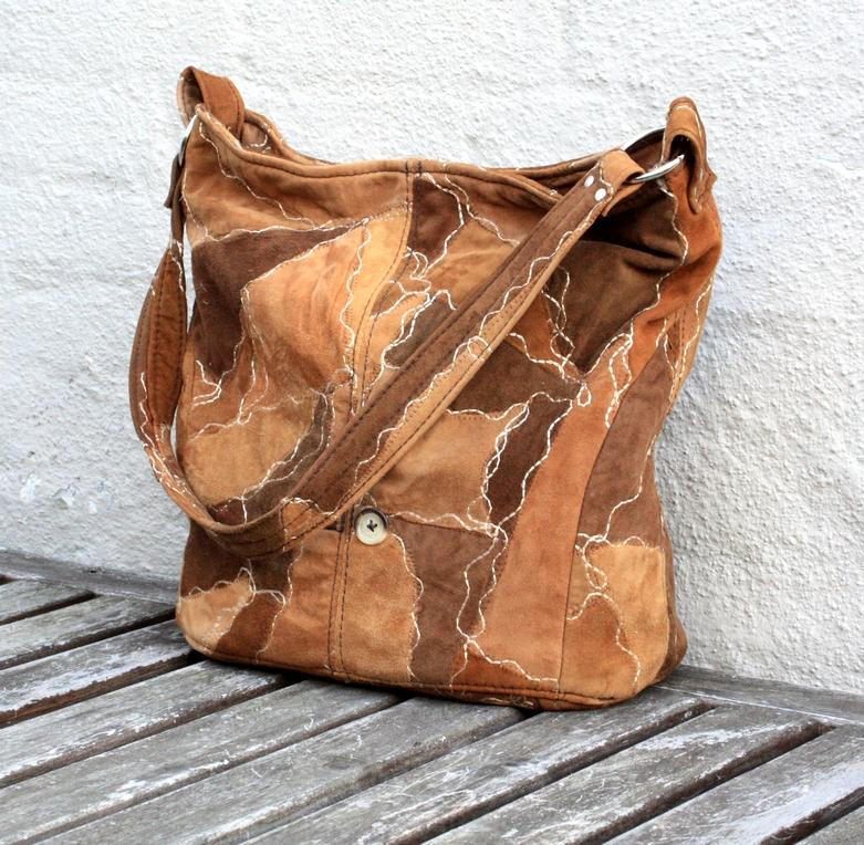 Beautifull Soft Suede Bag