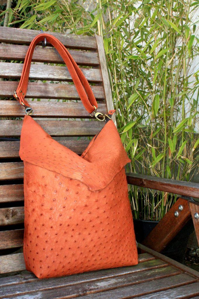 Beautifull ostrich bag
