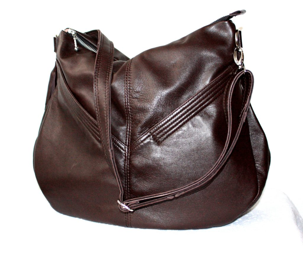 Beautifull brown bag with big pockets