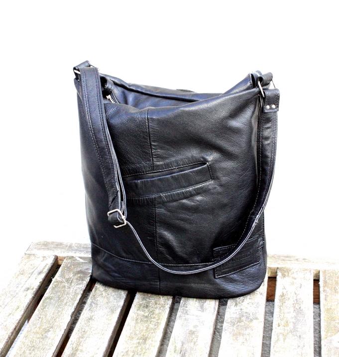 A black bag full of memories
