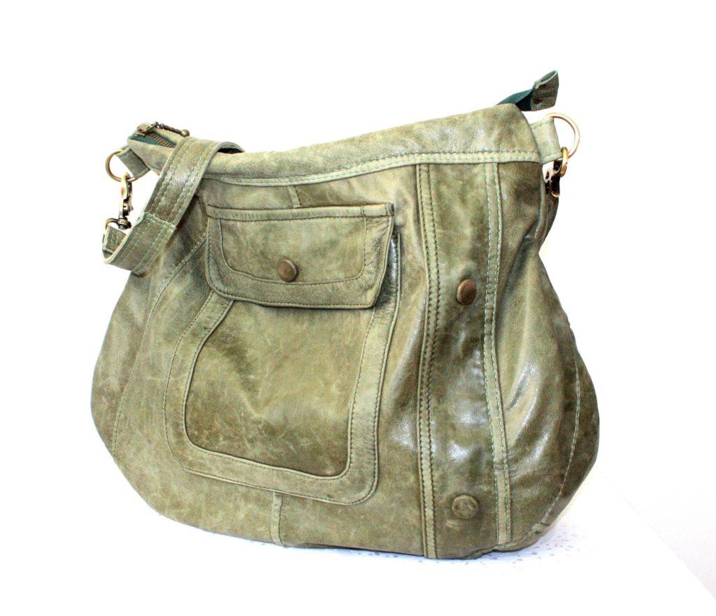 "The green ""sister"" bag"
