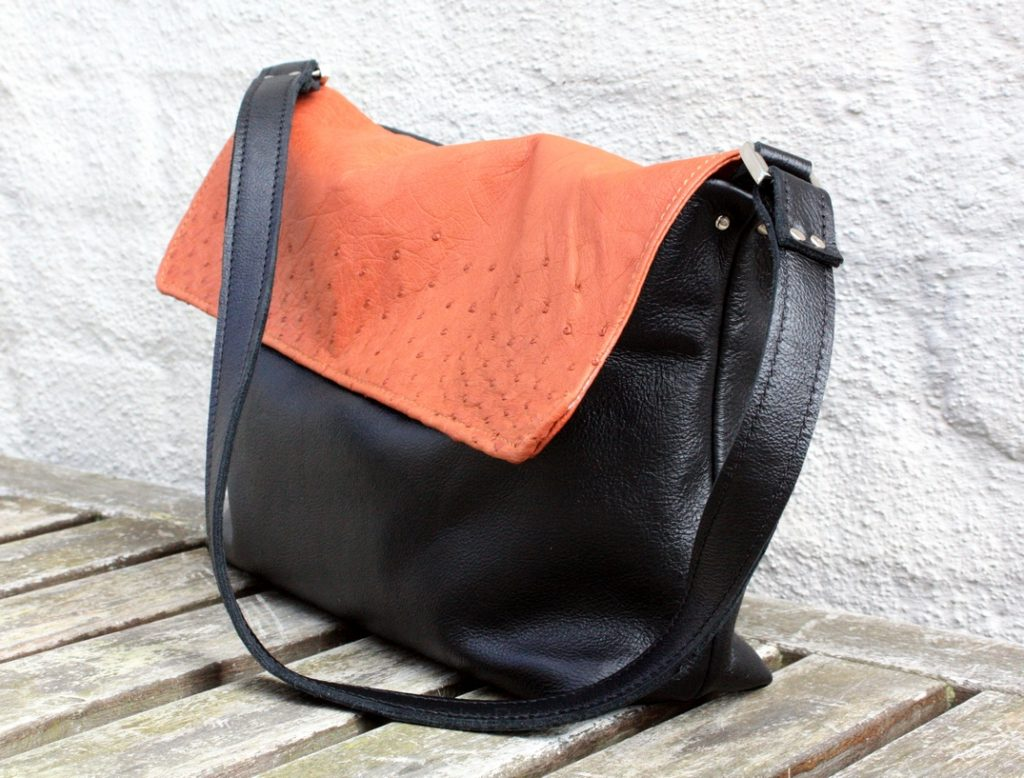 A small black/brown bag