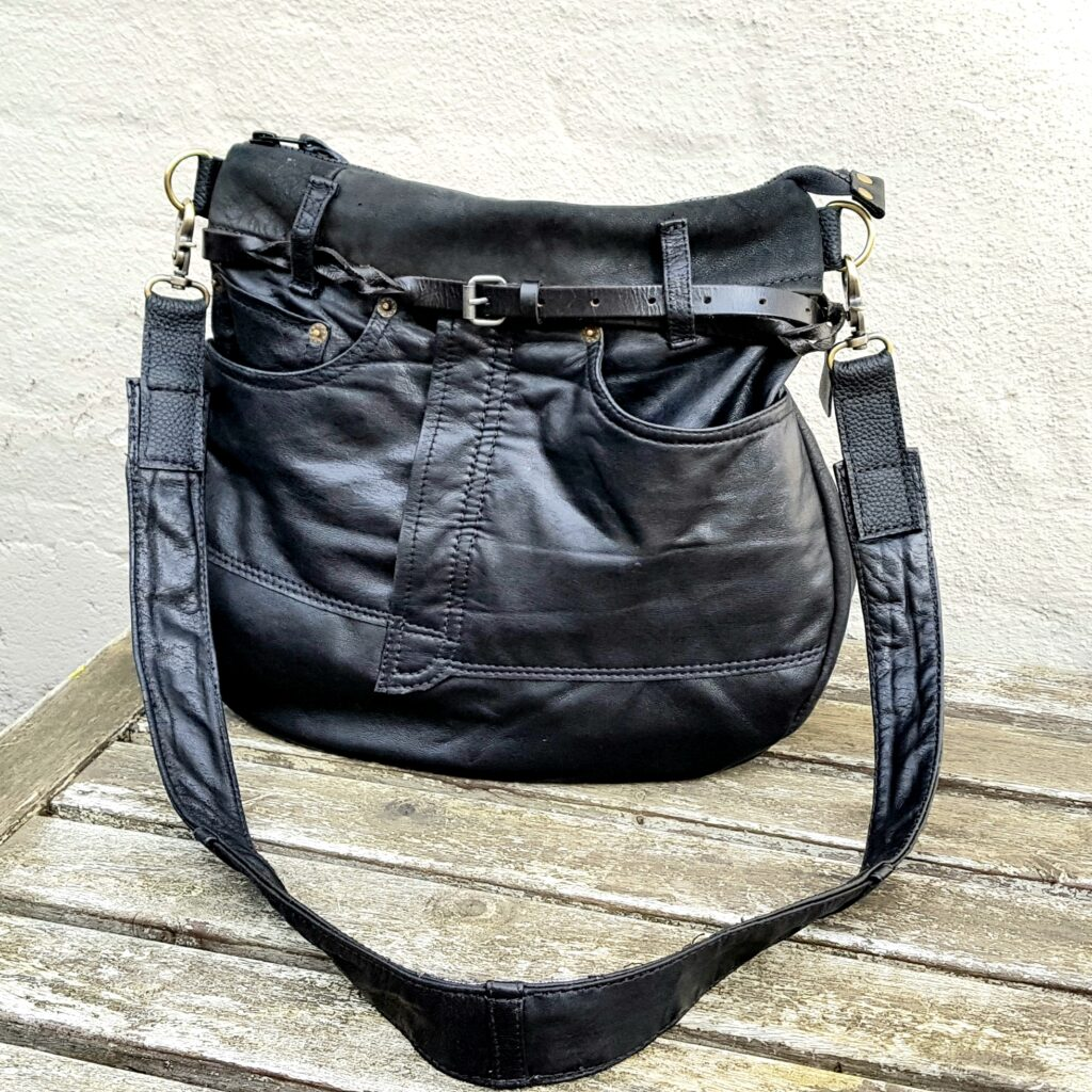 Black trousers bag